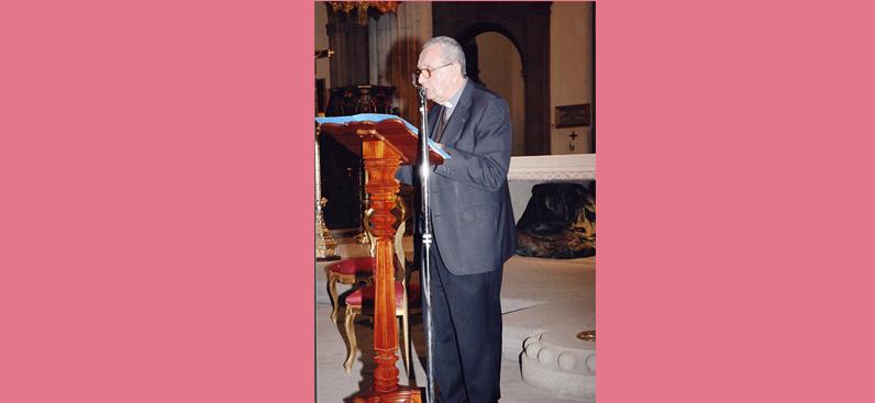 """Bicentenario de la muerte de José de Viera y Clavijo"""". Catedral de Canarias, 21 de febrero de 2013. Julio Sánchez Rodríguez."""