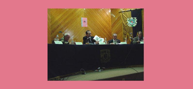 Presentación del libro Pedro Moya de Contreras, Biblioteca Nacional de México, 04 de octubre de 2007.