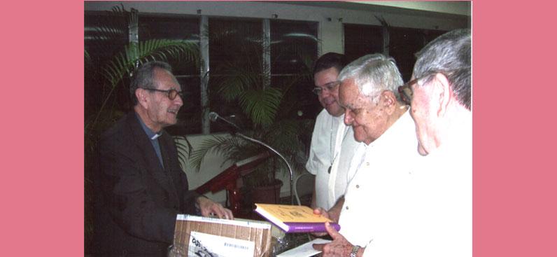 Presentación del libro Fray Vicente Peraza, Arzobispado de Panamá, 18 de Septiembre de 2007.